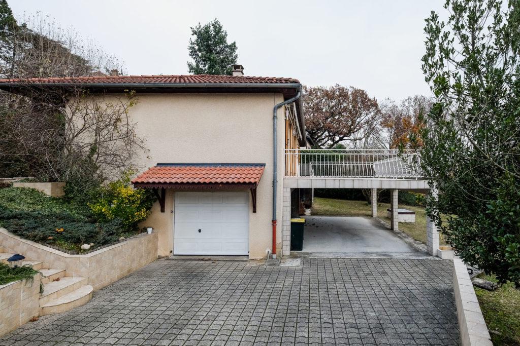 Extérieur garage avant rénovation