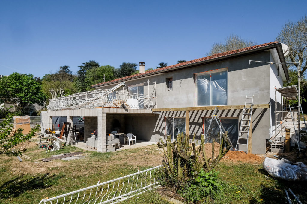 Vue Jardin pendant renovation