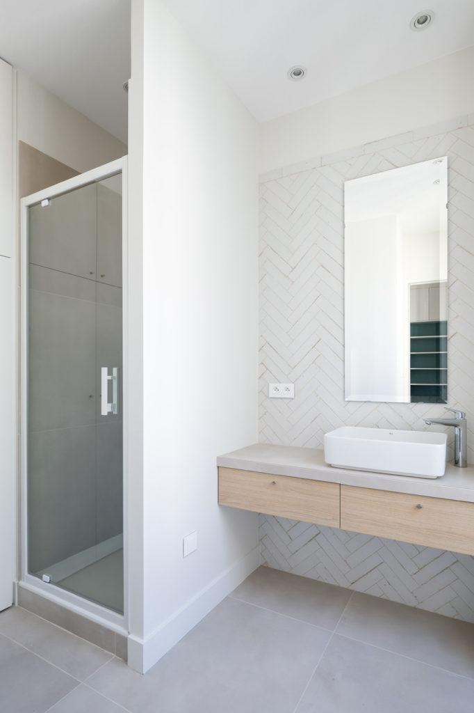 Brotteaux - Après -Salle de douche, vasque à poser