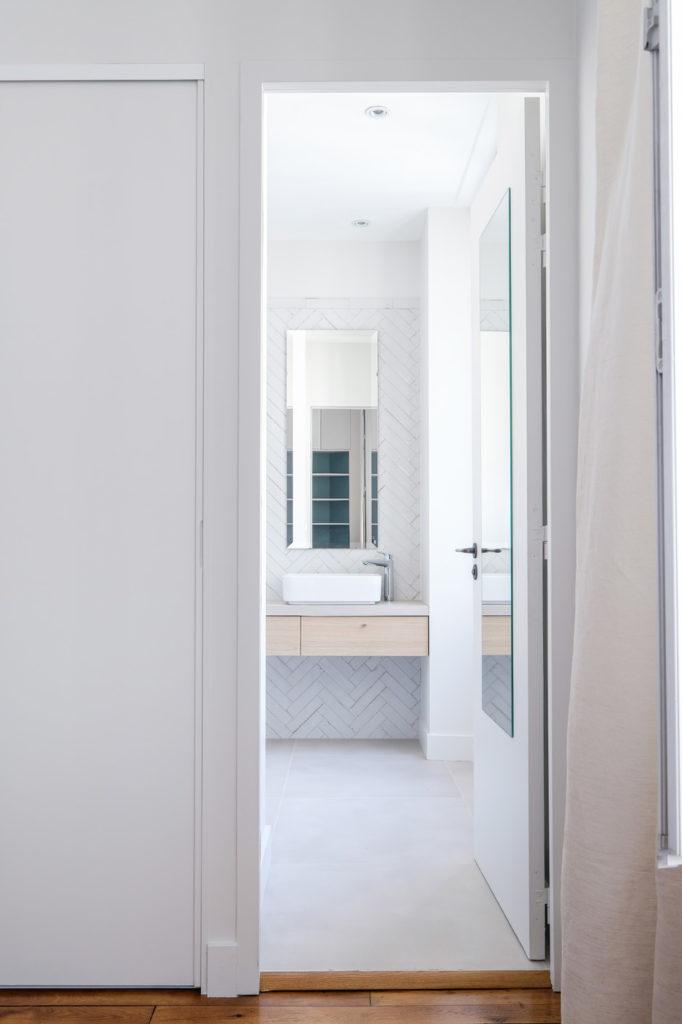 Brotteaux - Après -salle de douche, blanc